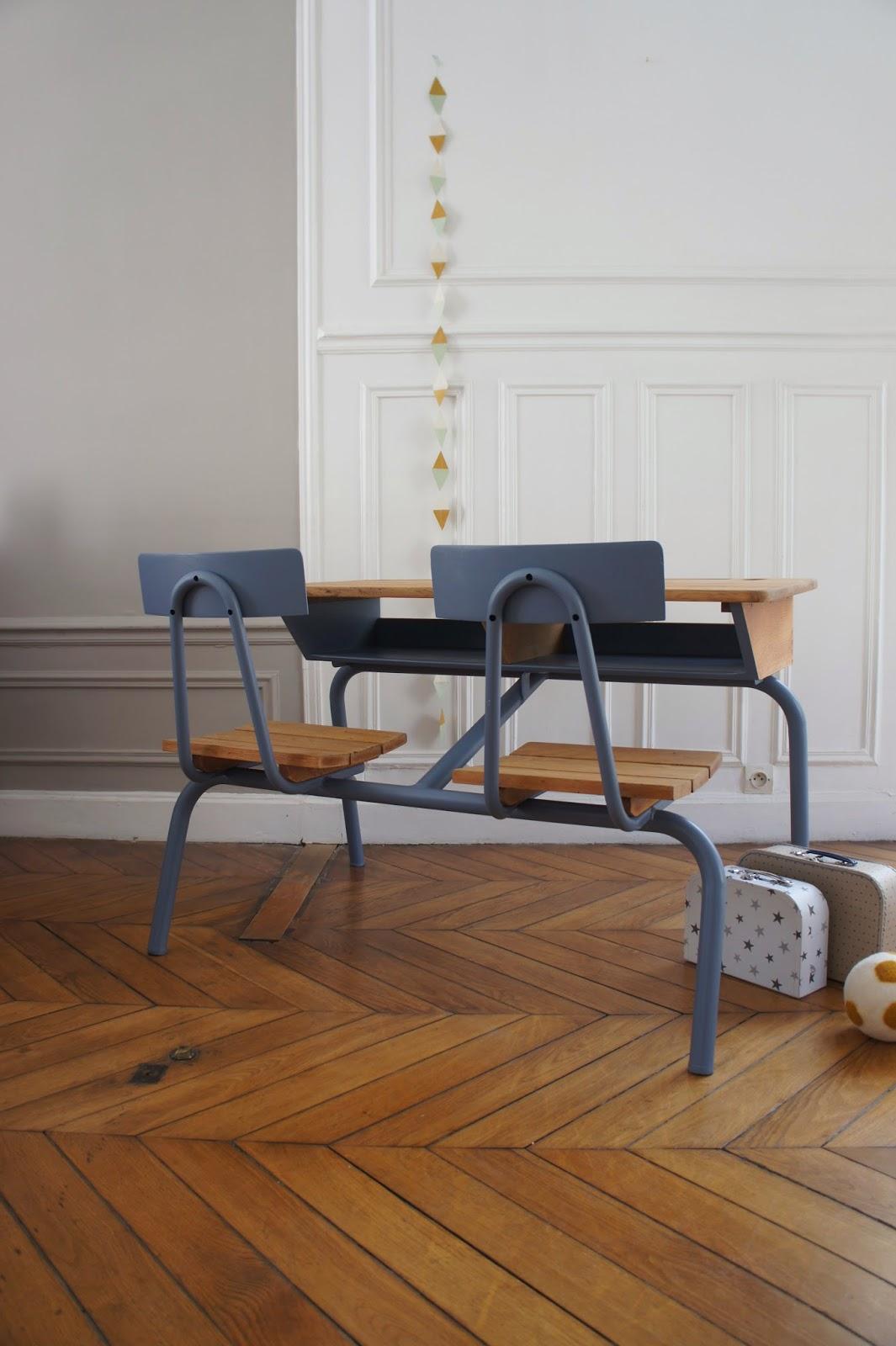 atelier petit toit pupitre vintage revisit sur commande sept 14. Black Bedroom Furniture Sets. Home Design Ideas