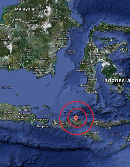 lanci satu, indonesia earthquake 2013 June 22