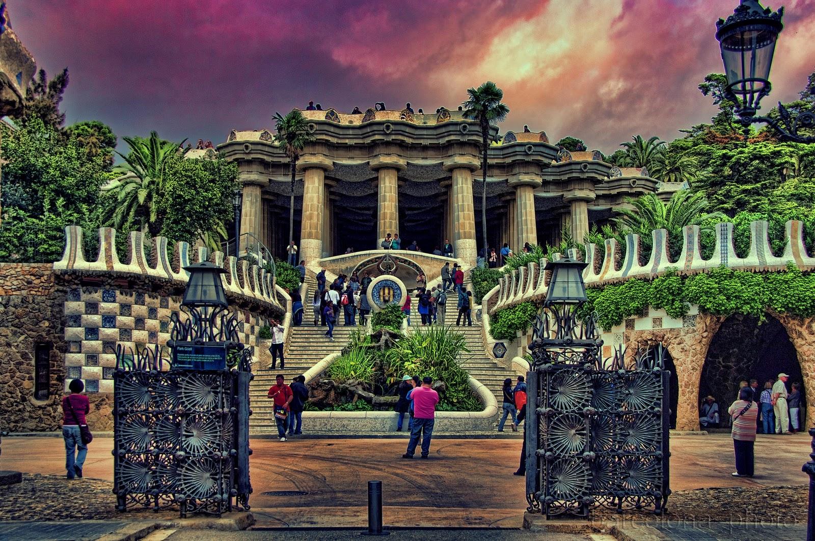 Meu pomar parque g ell barcelona espanha for Parques de barcelona