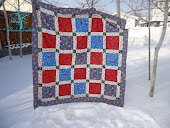 Checkerboard Christmas Quilt Pattern