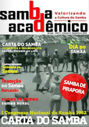 CARTA DO SAMBA 1962