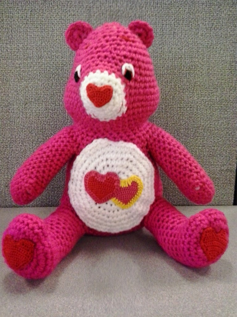 Crochet fanatic love a lot care bear this is te pattern for the hearts on love a lot care bears belly the body and detail colors that i used love a lot care bear is also included bankloansurffo Choice Image