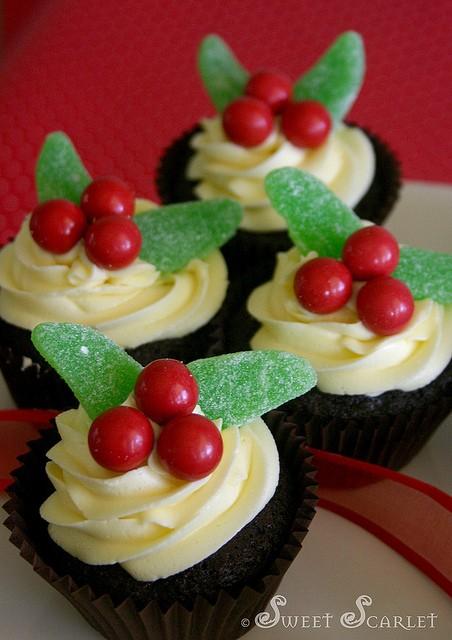 Apple Dessert Recipes Christmas Cupcakes