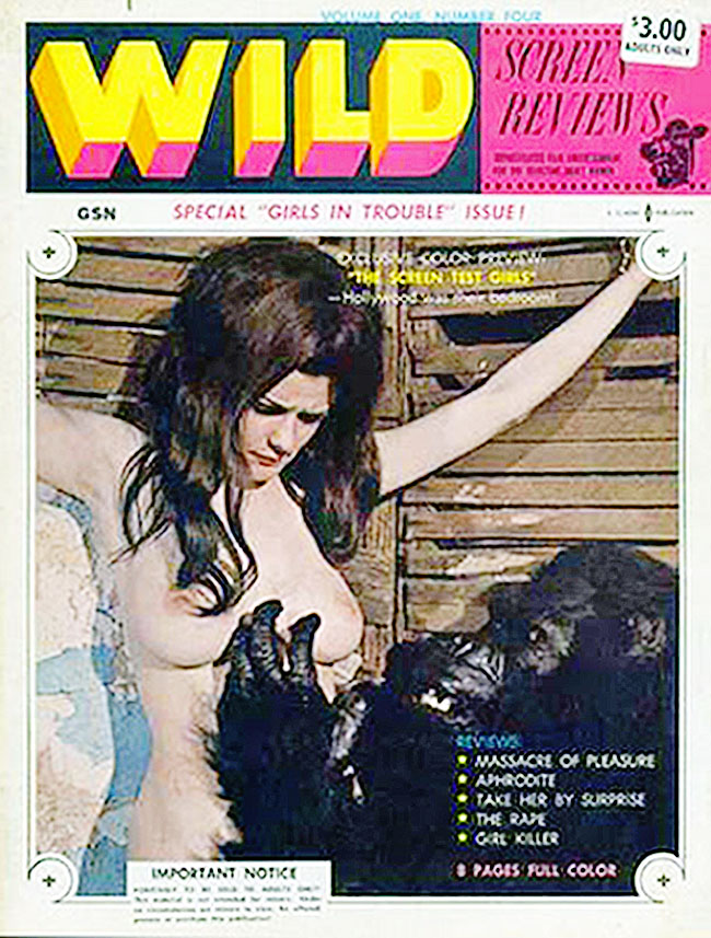 ape with Naked woman