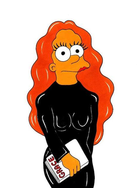 Grace Coddington by Matt Groening