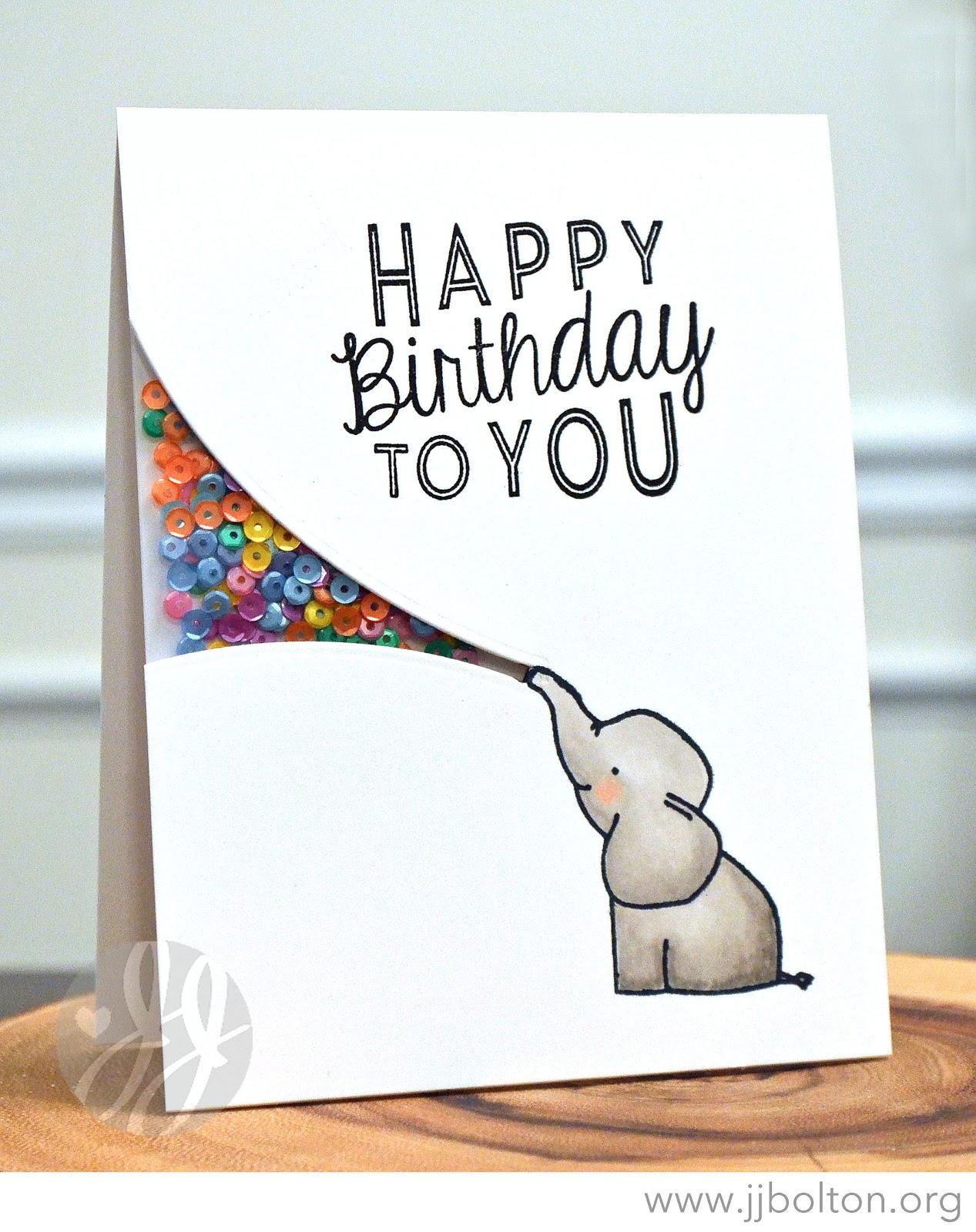 Jj bolton handmade cards ellie shaker card with avery elle ellie shaker card with avery elle reheart Images