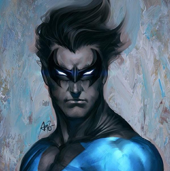 superhero morphsuits nightwing legend