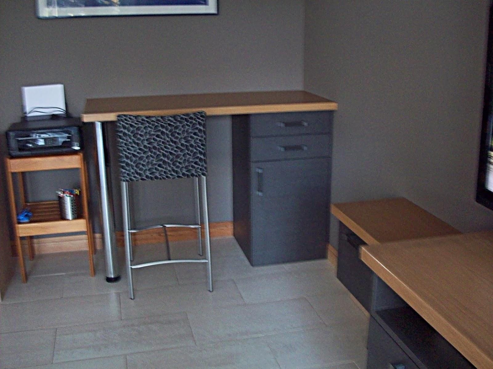 Latelier déco du capagut: meuble télé et bureau bois métaline de