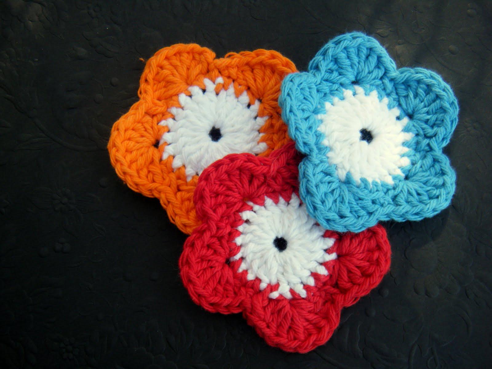 Crochet Flower Face Scrubby Pattern Farmish Momma