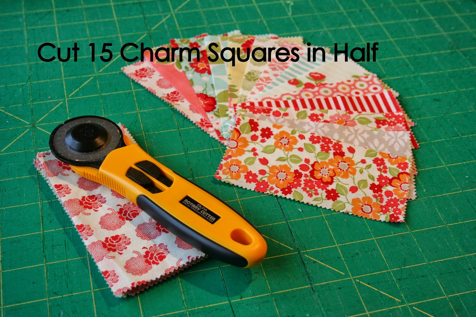how to cut 10 by 10 quilt squares