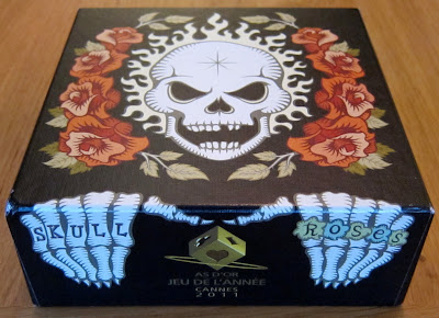 Skull & Roses - The box artwork
