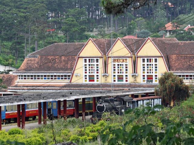 Train station of Da Lat