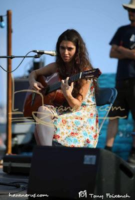 Sílvia Pérez Cruz a la 45º Cantada d'Havaneres Calella de Palafrugell
