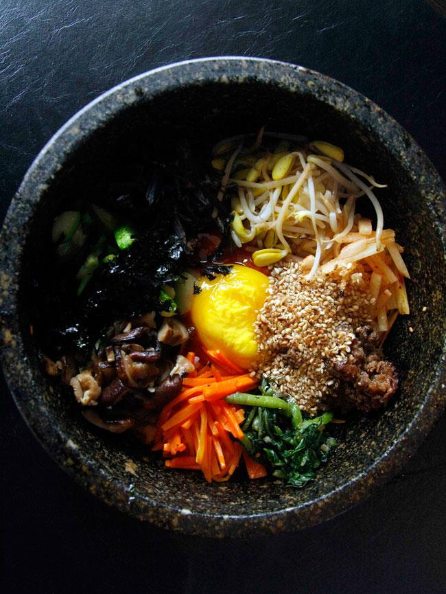 Yoree Korean Barbecue dolsot bibimbap