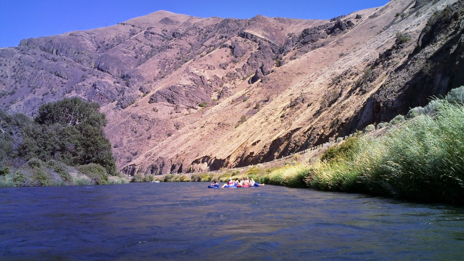 Tubing on the Yakima in Washington State