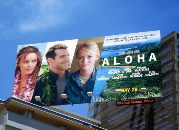 Aloha film billboard