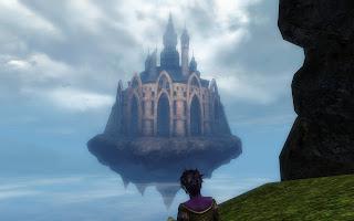 Floating castle Guild Wars 2