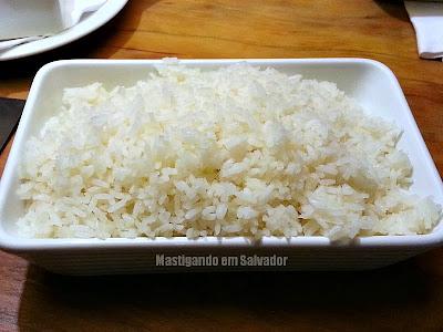 Coco Bahia Restaurante: Porção de Arroz Branco