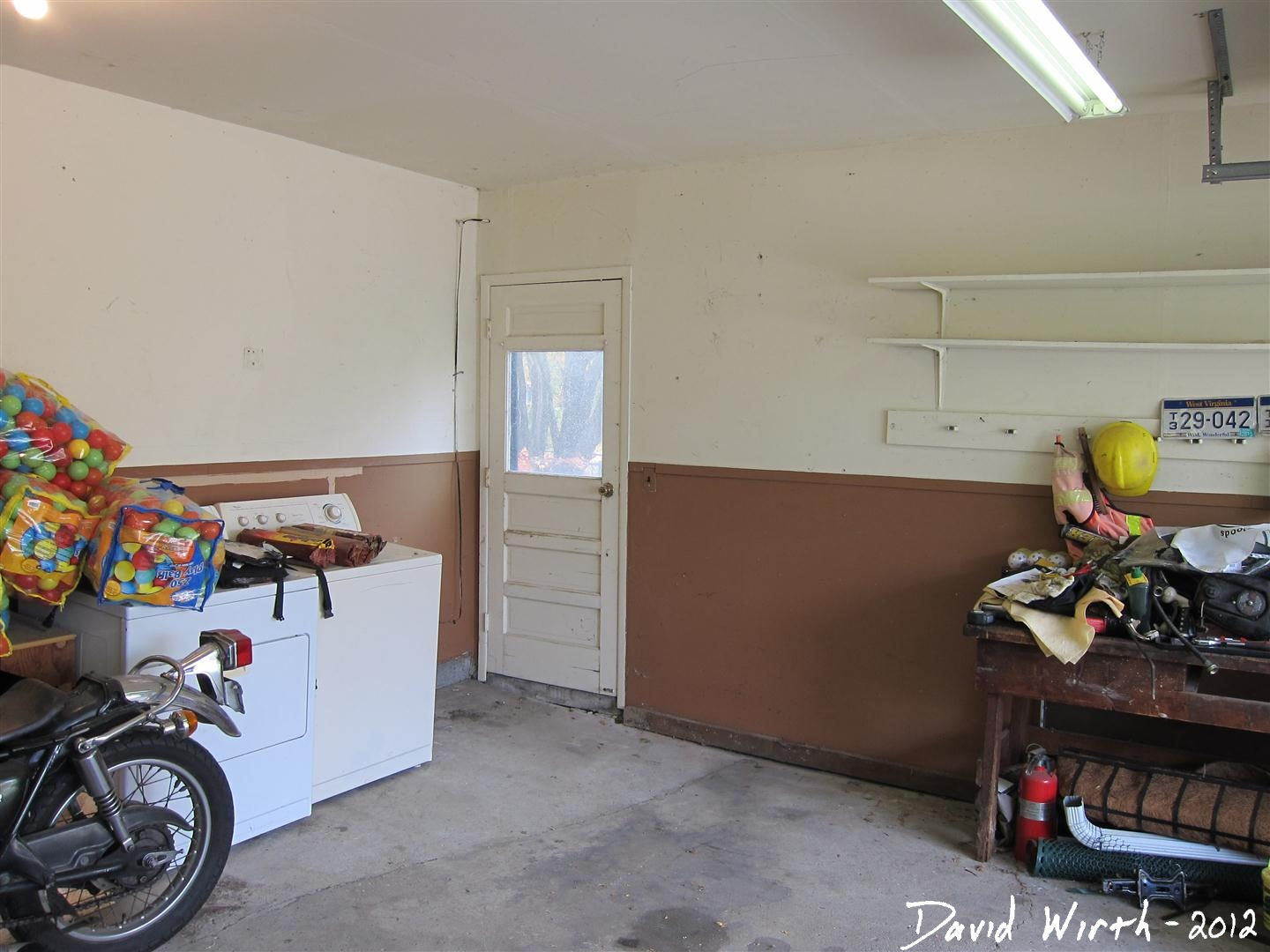 How to build a shelf for the garage for How to clean concrete garage
