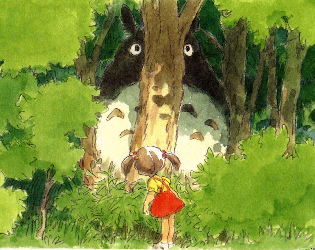 Most Inspiring Wallpaper Forest Totoro - 281357  You Should Have_524935 .jpg