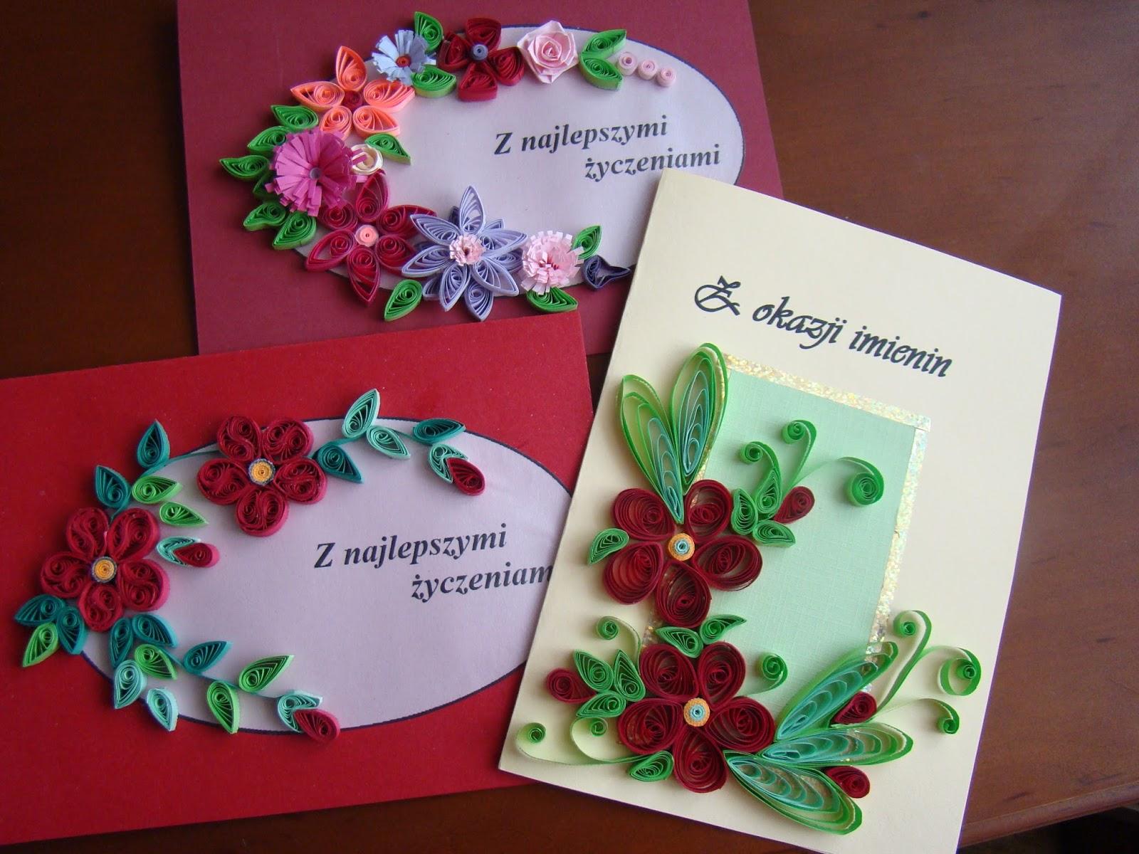 papierowe cude u0144ka  kartki imieninowe i urodzinowe cz  i