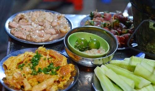 Street Food in Lò Đúc, Hà Nội City