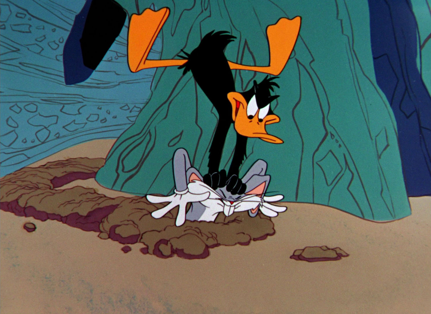 Bugs bunny and daffy duck wallpaper