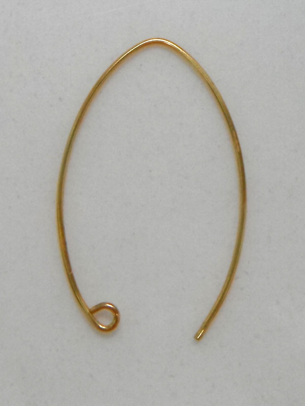 non*sense..: earring hook & hoop how-to