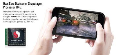 Smartfren Andromax C - Android ICS dual core harga Murah