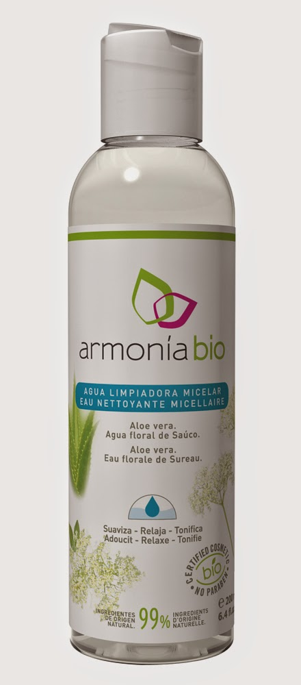 Agua Limpiadora Micelar de Armonía Bio. Recomendable 100%