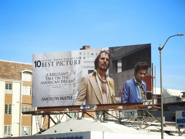 American Hustle Christian Bale Oscar billboard
