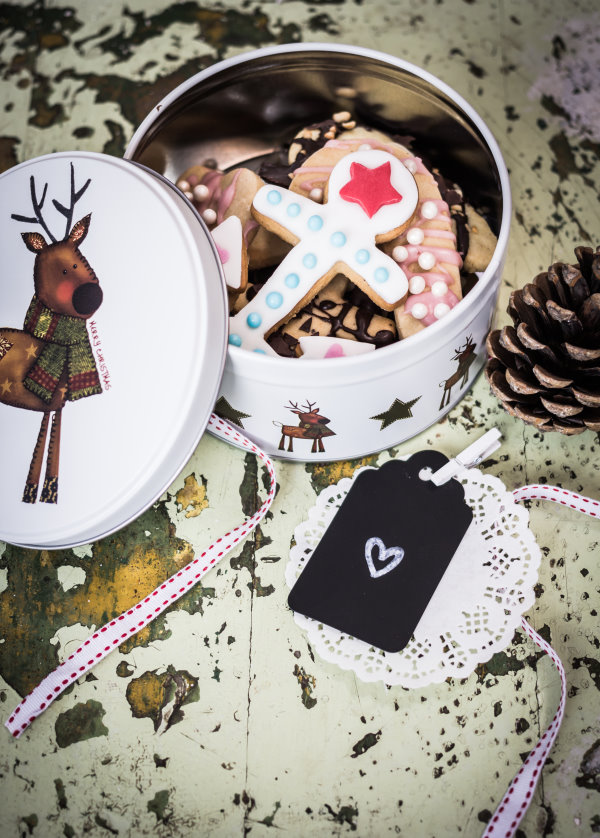 In der Weihnachtsbäckerei mit dem Förde Fräulein - leckere selbstgemachte Kekse