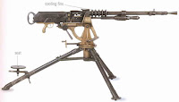 Hotchkiss Model 1914 medium machine gun MMG
