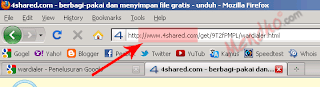 Lihat address bar - Image by MeNDHo.com