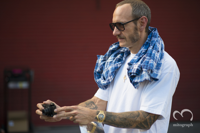 mitograph Terry Richardson Before Alexander Wang New York Fashion Week 2014 Spring Summer NYFW Street Style Shimpei Mito