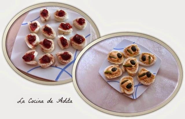 Canapes  Con Salsa Tartara