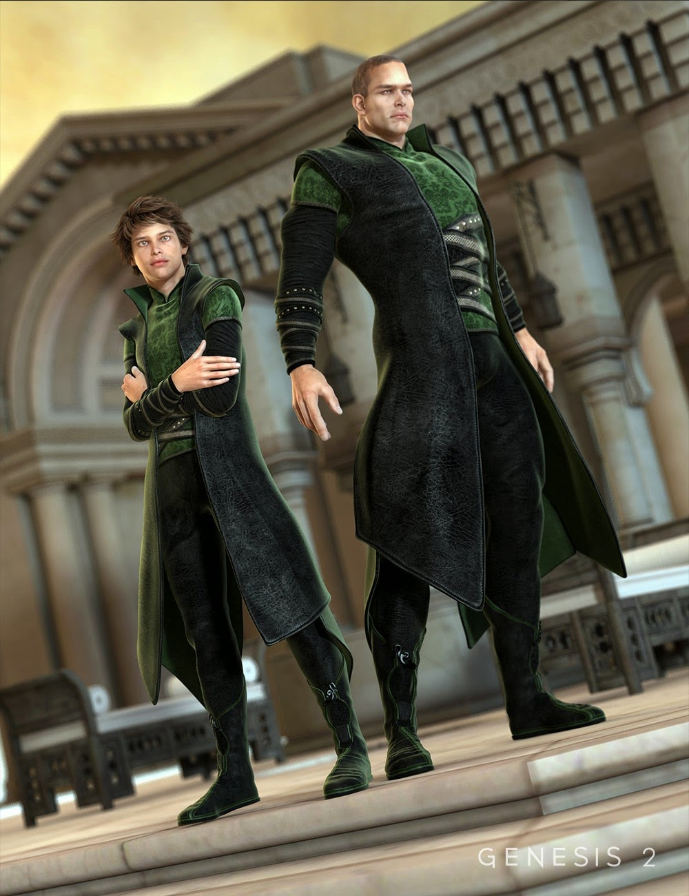 Asgard Cleric for Genesis 2 Male