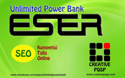 Kompetisi Tulis Online ESER Unlimited Power Bank
