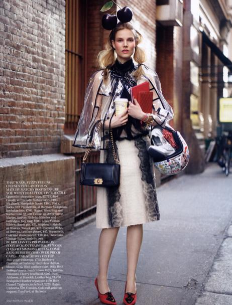 Model Insider British Vogue And Suvi Koponen Go Street Style