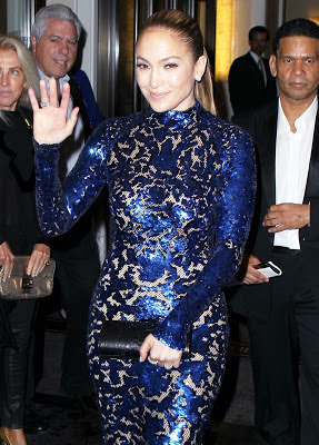 Jennifer Lopez Looks Hot In Tom Ford At The AmfAR Inspiration Gala New York