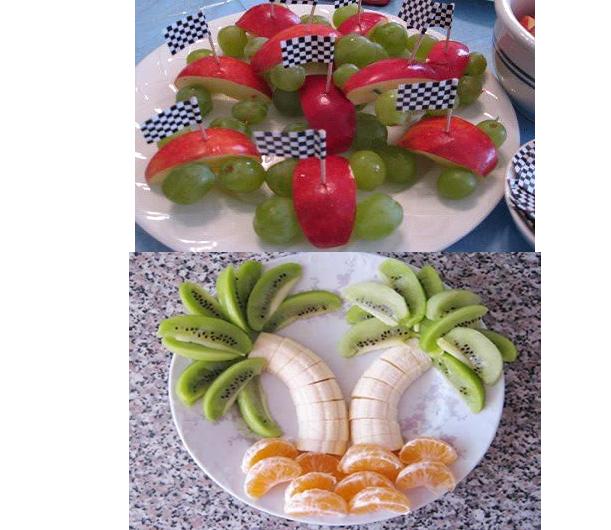 Manitas creativas y algo mas cocina comida divertida for Cocina divertida para ninos