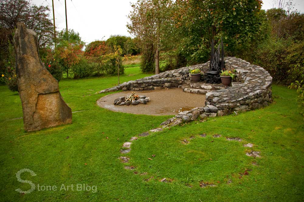 Stone art blog landscape designer mary reynolds for Garden design galway