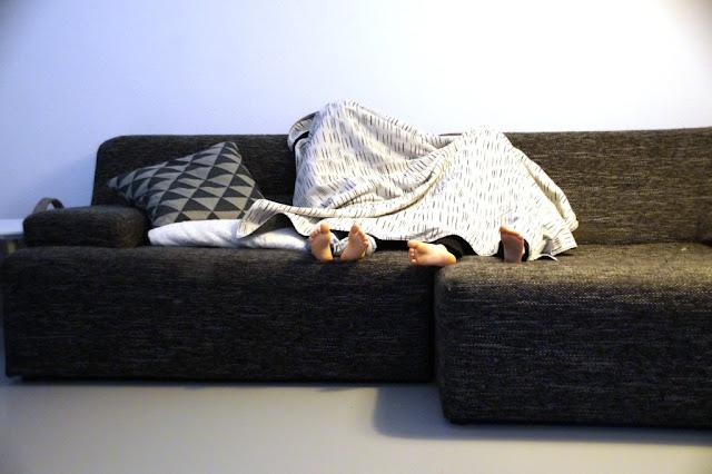 throw blanket - huisje boompje boefjes