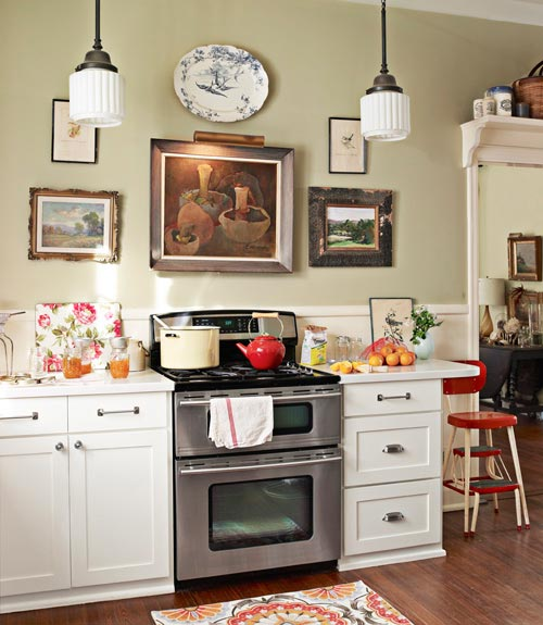 Keltainen Talo Rannalla: Keittiöunelmia