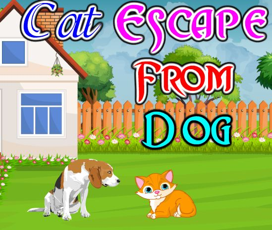 PinkyGirlGames Cat Escape from Dog