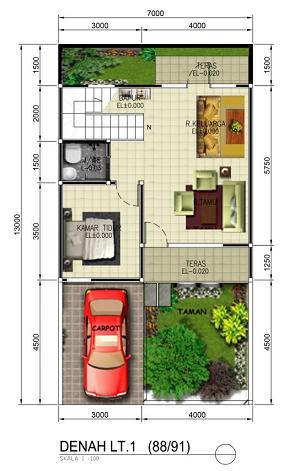 jasa desain gambar murah jasa gambar denah 3d rumah