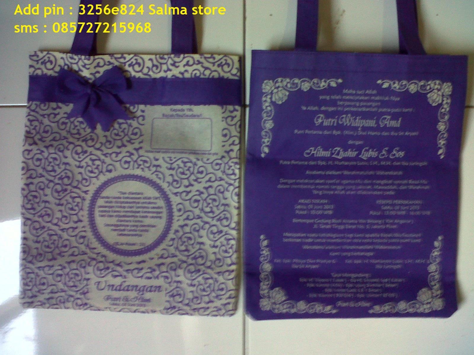 Undangan Nikah Unik Batik ( Pesanan April – Mei )