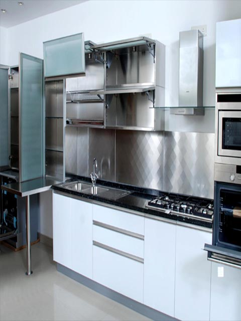 Stainess steel kitchen company india stainless steel for Kitchen company