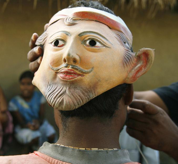 Image result for mask against tiger attack
