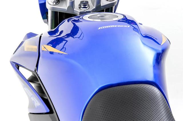 fazer 250cc 2016 novo tanque